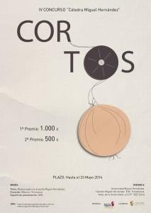 CARTEL cortos miguel 2014-